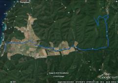 Map Big trail
