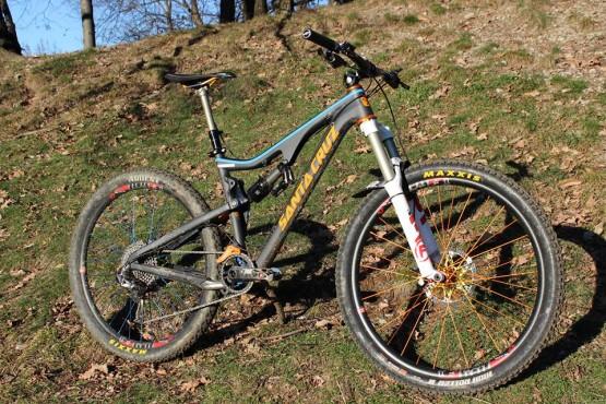 Davide's New Bike for 2014.