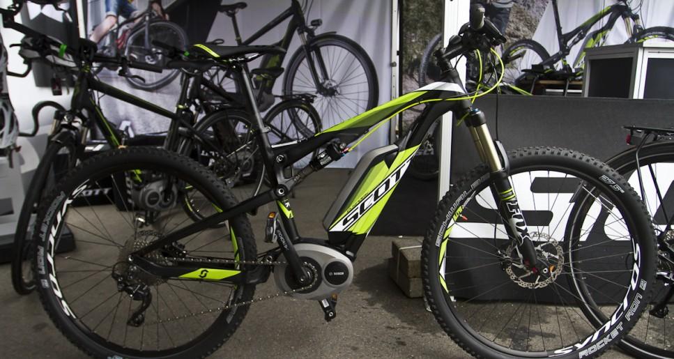 Scott Spark E Bike Euro Bike 2013 I Mtb