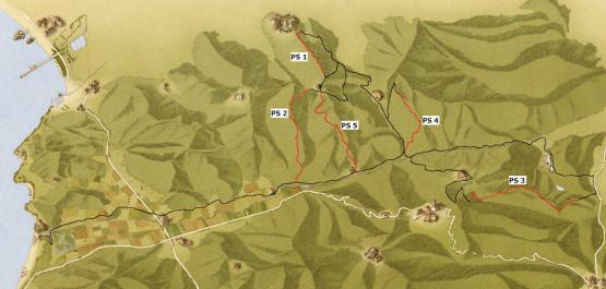mappa Bandite SE 2014